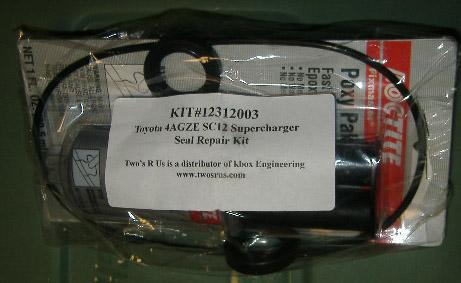 4AGZE SC12 Supercharger Seal Kit | Twos R Us