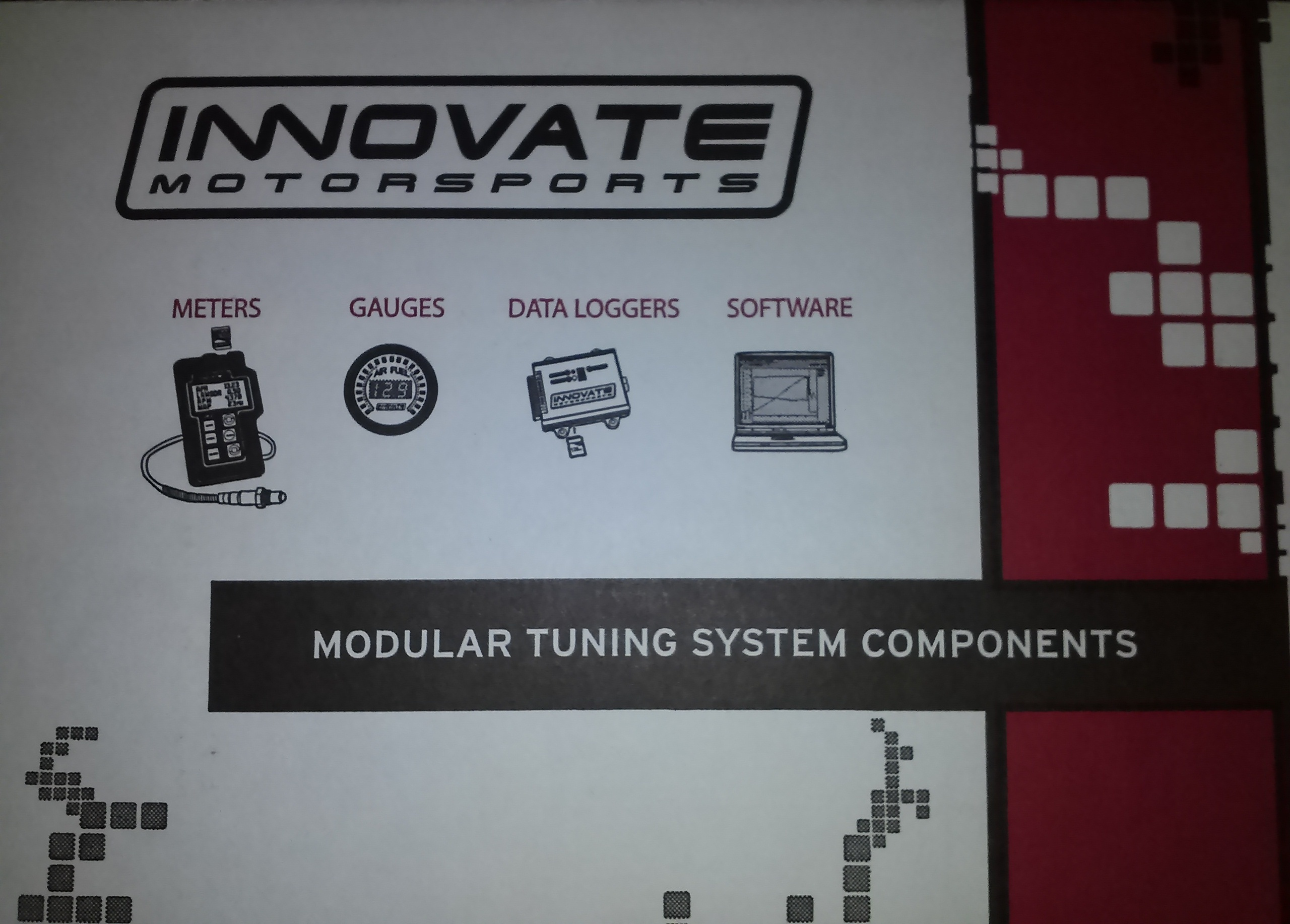 Innovate MTX-L AFR Gauge w/O2 Sensor   Twos R Us