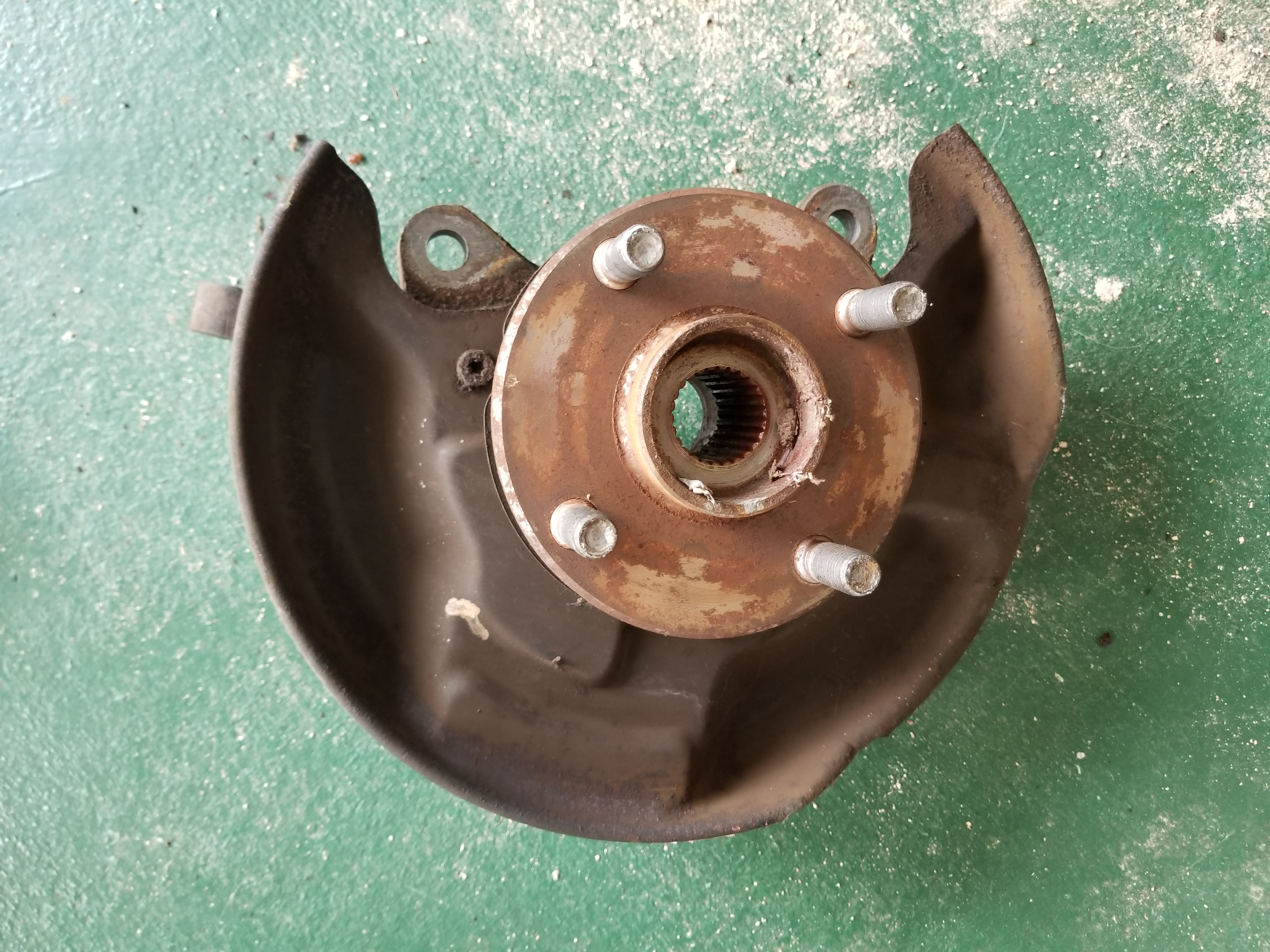 Used - MKIa MR2 Right Rear hub assembly | Twos R Us