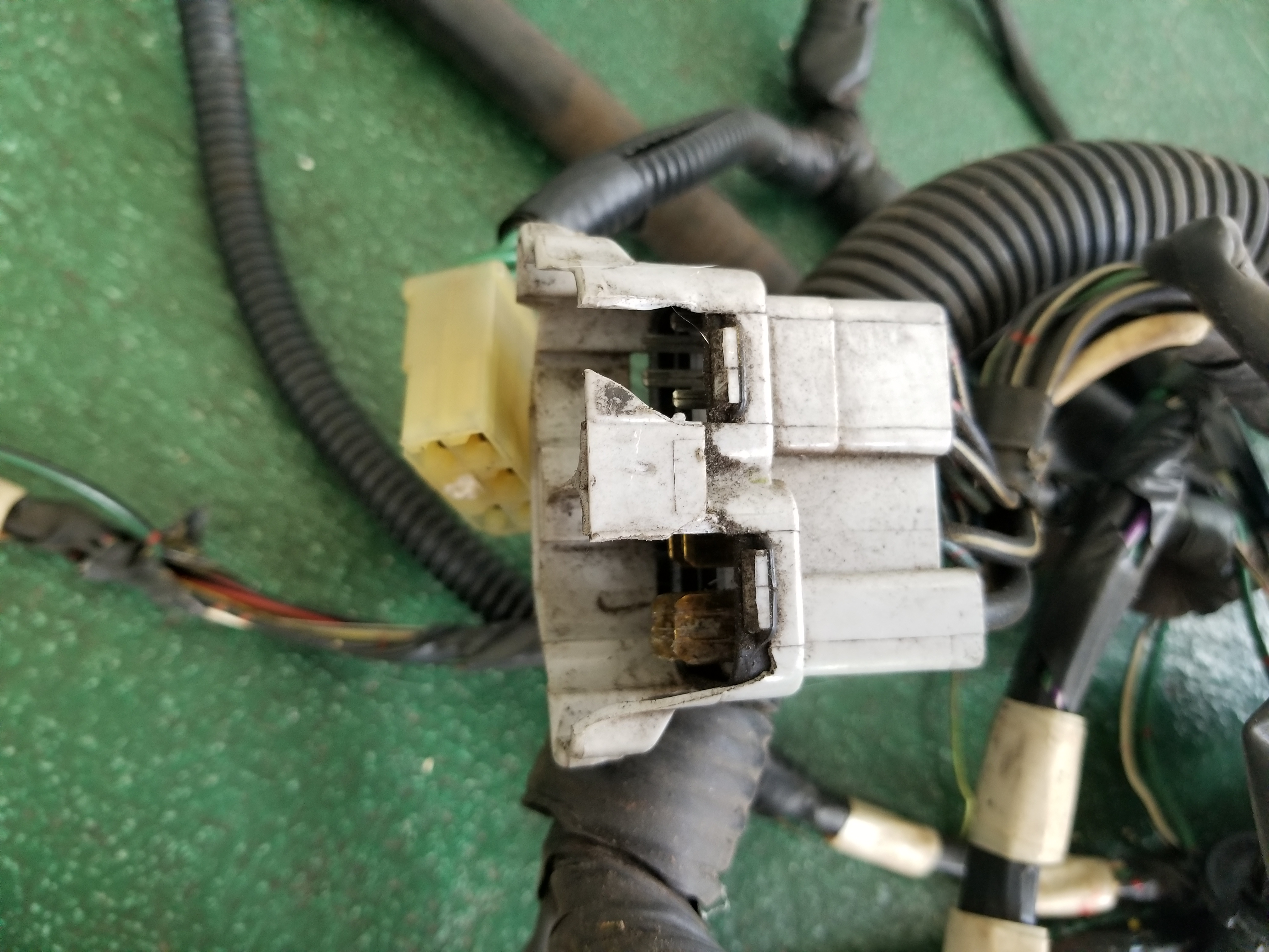 Used Mki Mr2 Engine Room Main Wiring Harness Twos R Us The Wire Green Compartment Removed From A 1985 Parts Car Overall Good Condition But Two Plug Connector By Battery Was Brittle