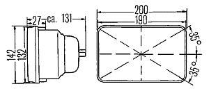 h6054 hi low e code conversion headlamp kit twos r us. Black Bedroom Furniture Sets. Home Design Ideas