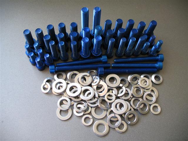 Genii 3sgte Aluminum Engine Compartment Bolt Kit Twos R Us